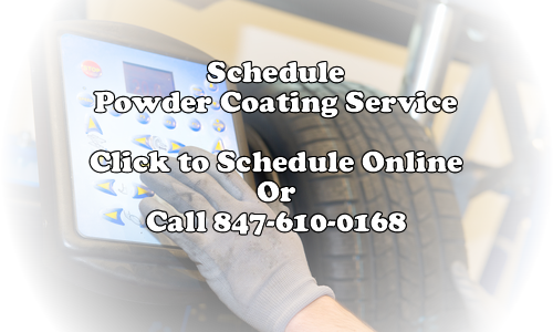Call or email Wellis Inc. for powder coating service
